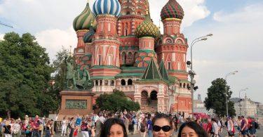 liburan di rusia